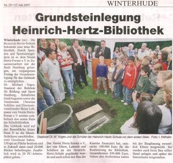 Grundstein-Hertz-Bibliothek